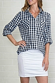 Simply Noelle Plaid Button Up - Product Mini Image