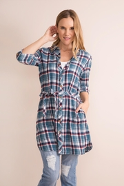 Simply Noelle Plaid Convertible Dress/wrap - Product Mini Image