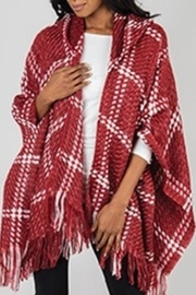 Simply Noelle Red Hooded Wrap - Product Mini Image