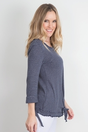 Simply Noelle Ruffle Knot Top - Product Mini Image