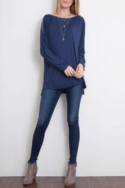 Simply Noelle Shoulder Zip Top - Product Mini Image