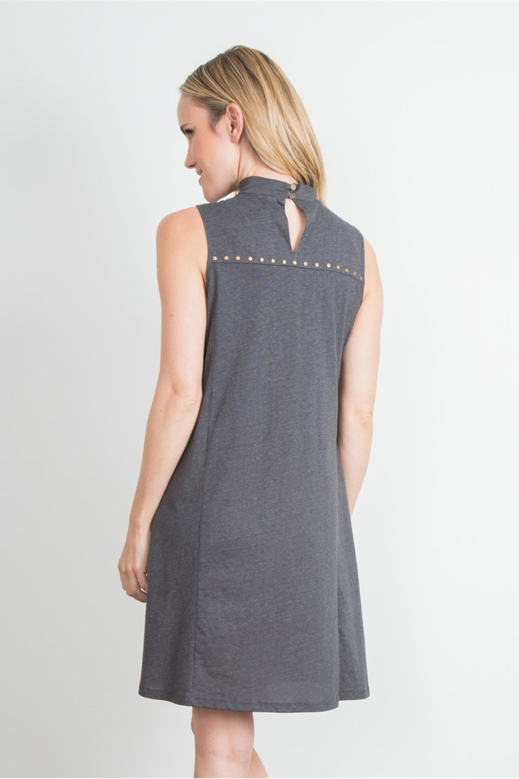 Simply Noelle Studded Dress - Side Cropped Image