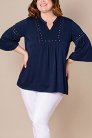 Simply Noelle Studded Top - Product Mini Image