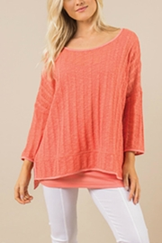 Simply Noelle Sweater Top - Product Mini Image