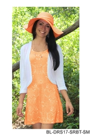 Simply Noelle Tangerine Tank Dress - Product Mini Image