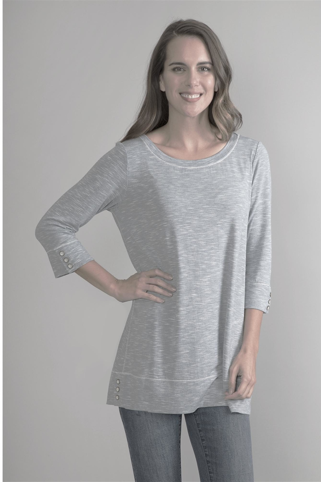 Simply Noelle Textured Shirt - Main Image