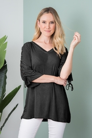 Simply Noelle Tie Sleeve Top - Product Mini Image
