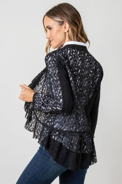 Simply Noelle Vintage Lace Jacket - Alternate List Image