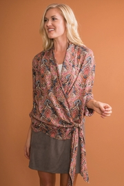 Simply Noelle Wrap-It-Up Top - Front cropped