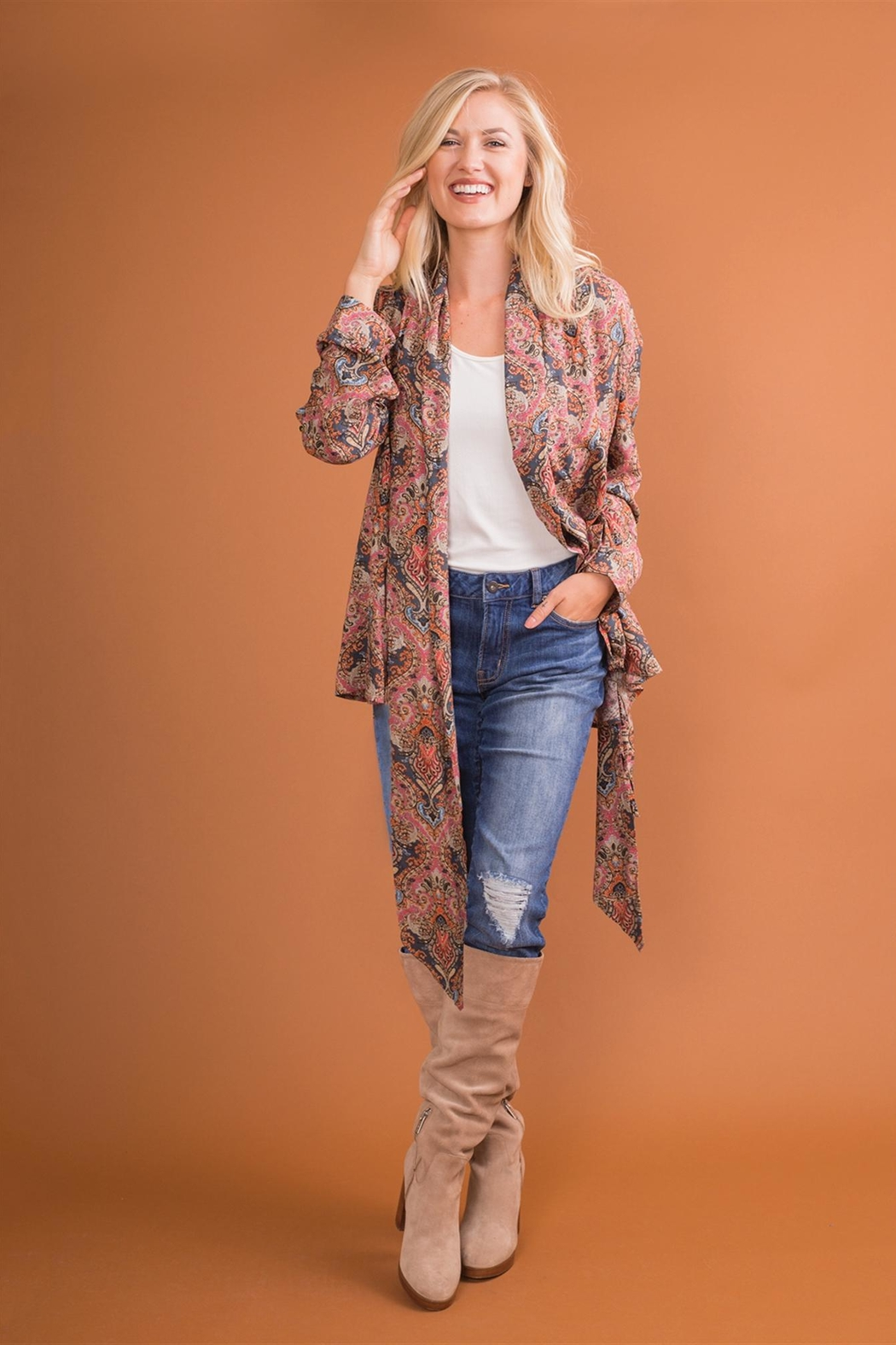 Simply Noelle Wrap-It-Up Top - Side Cropped Image