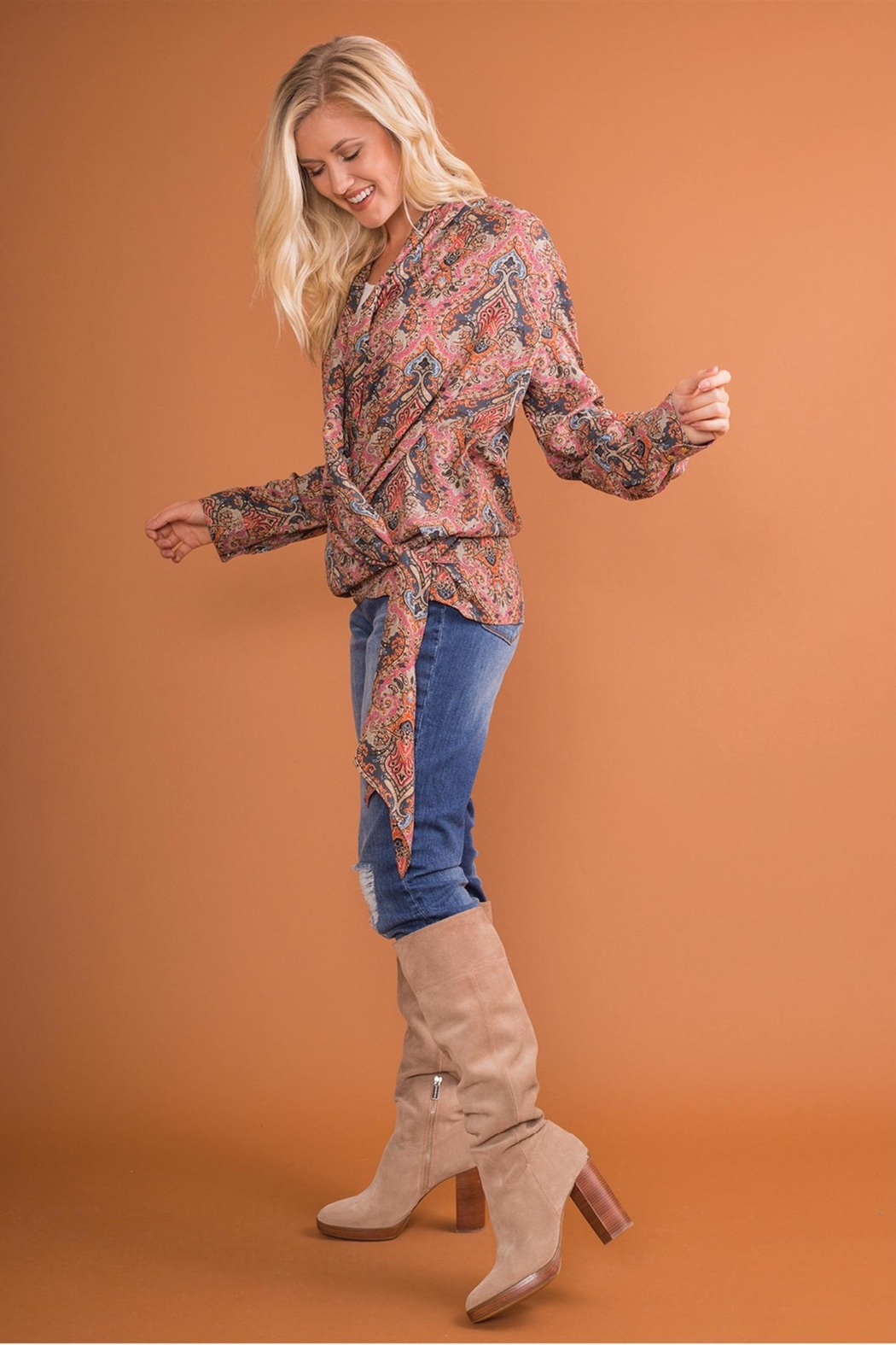 Simply Noelle Wrap-It-Up Top - Front Full Image