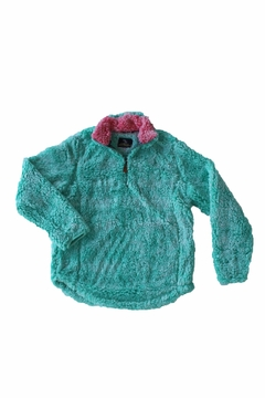 Simply Southern Aqua Sherpa Pullover - Alternate List Image