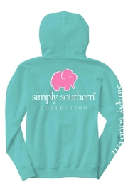 Simply Southern Blue Elephant Hoodie - Product Mini Image