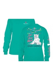 Simply Southern Cat Meowt Shirt - Front cropped