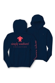 Simply Southern Navy Turtle Hoodie - Product Mini Image