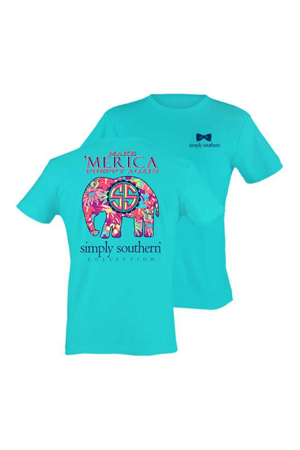Simply Southern Preppy Elephant Shirt - Main Image