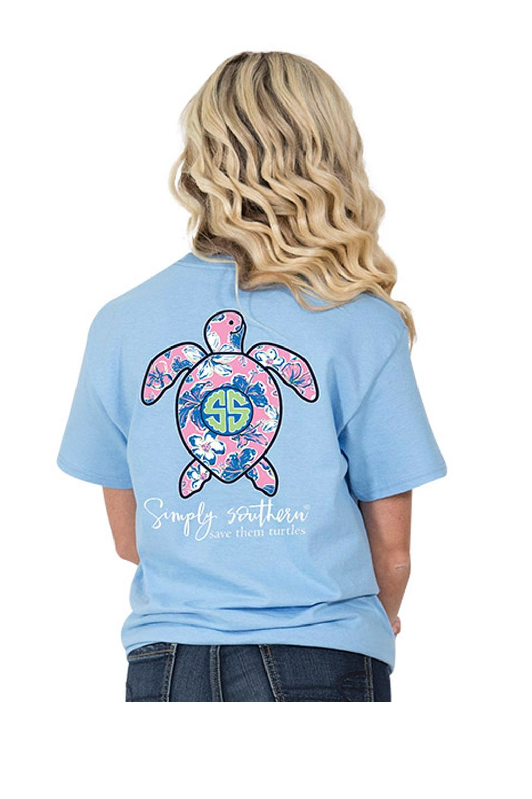 Simply Southern Save Turtles T-Shirt - Main Image