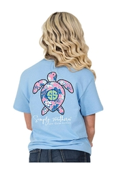 Simply Southern Save Turtles T-Shirt - Front cropped