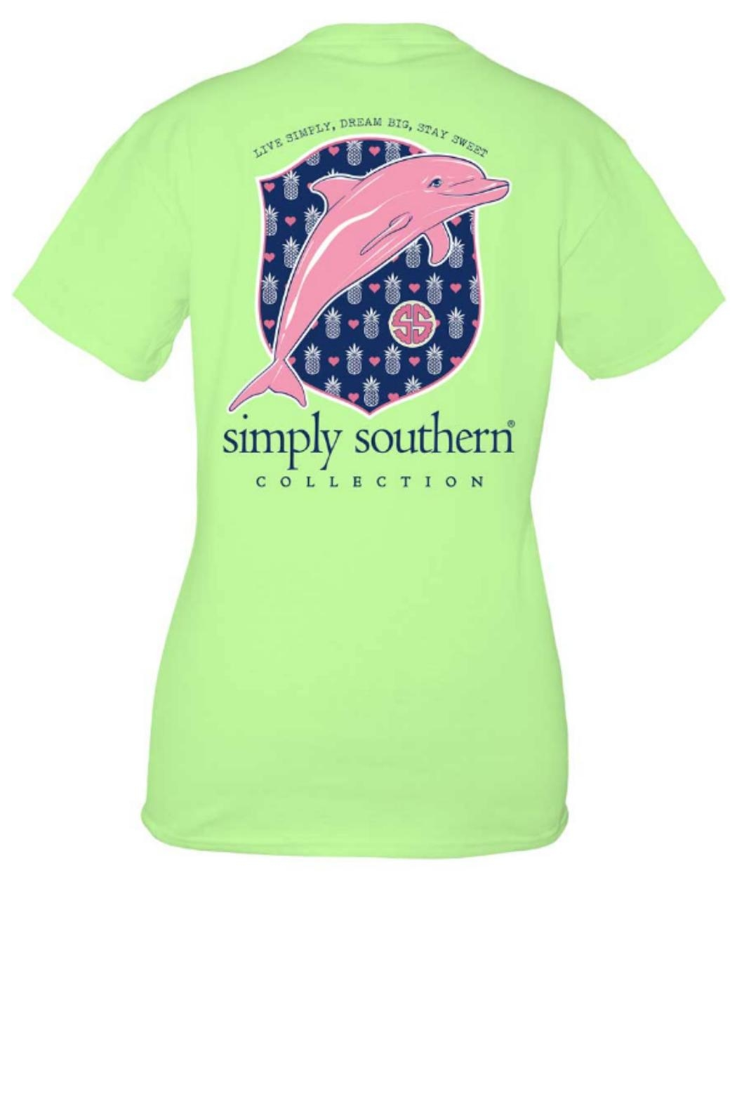 Simply Southern Simplysouthern Dolphin Tee - Main Image