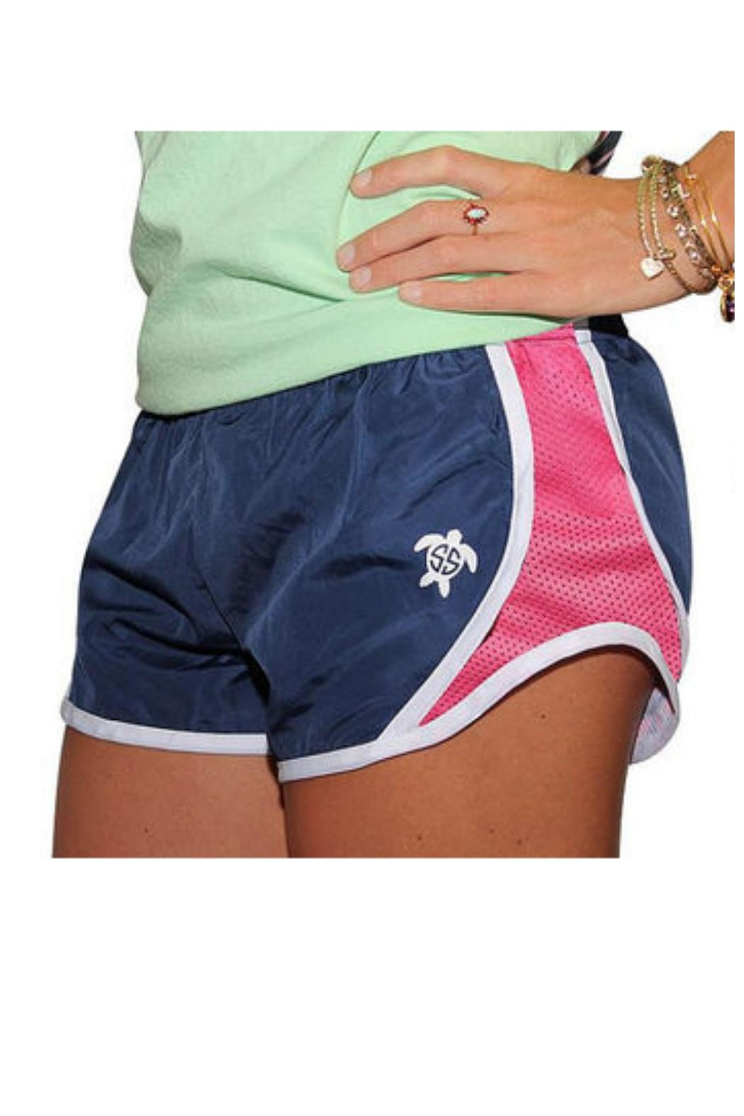 Simply Southern Southern Running Shorts - Front Full Image