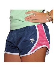 Simply Southern Southern Running Shorts - Front full body