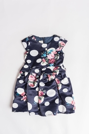 Simply Sweet Kids Navy Floral Dress - Product Mini Image