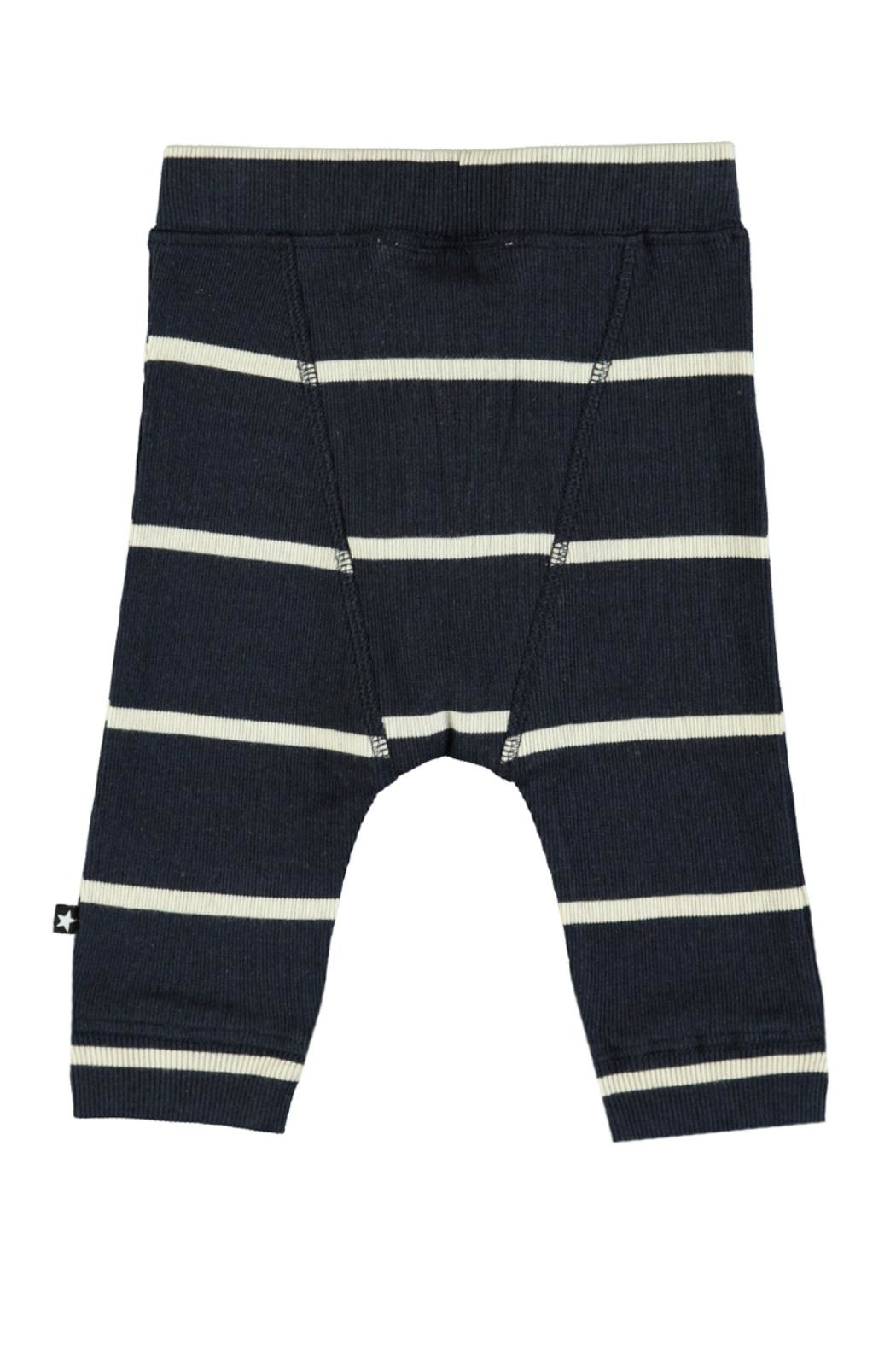 Molo Simpson Stripe Trousers - Front Full Image