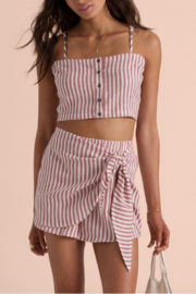 Billabong Sincerely Jules Straight To It Crop Top - Product Mini Image