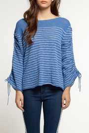 Dex Sinched Sleeve Sweater - Product Mini Image