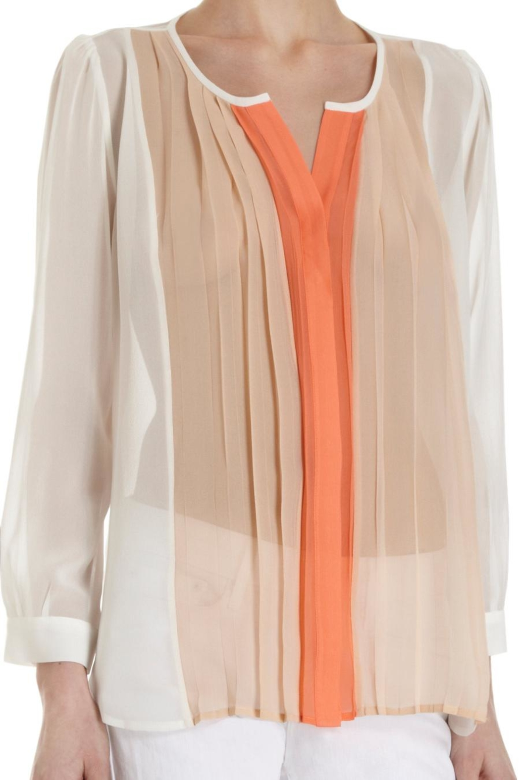Joie Sinden Ombre Blouse - Back Cropped Image