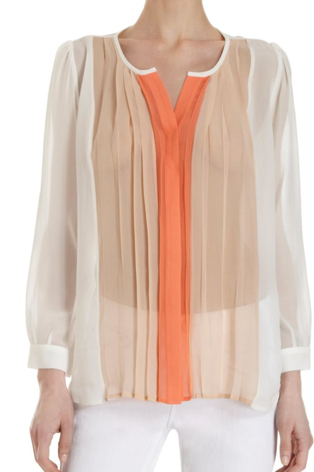 Joie Sinden Ombre Blouse - Side Cropped Image