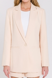 Endless Rose Single Breasted Blazer - Back cropped