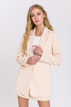 Endless Rose Single Breasted Blazer - Product List Image