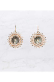Rush by Denis & Charles Single Disc Beaded Earring - Product Mini Image
