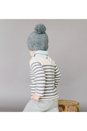 The Blueberry Hill Single Pom Hat - Front cropped