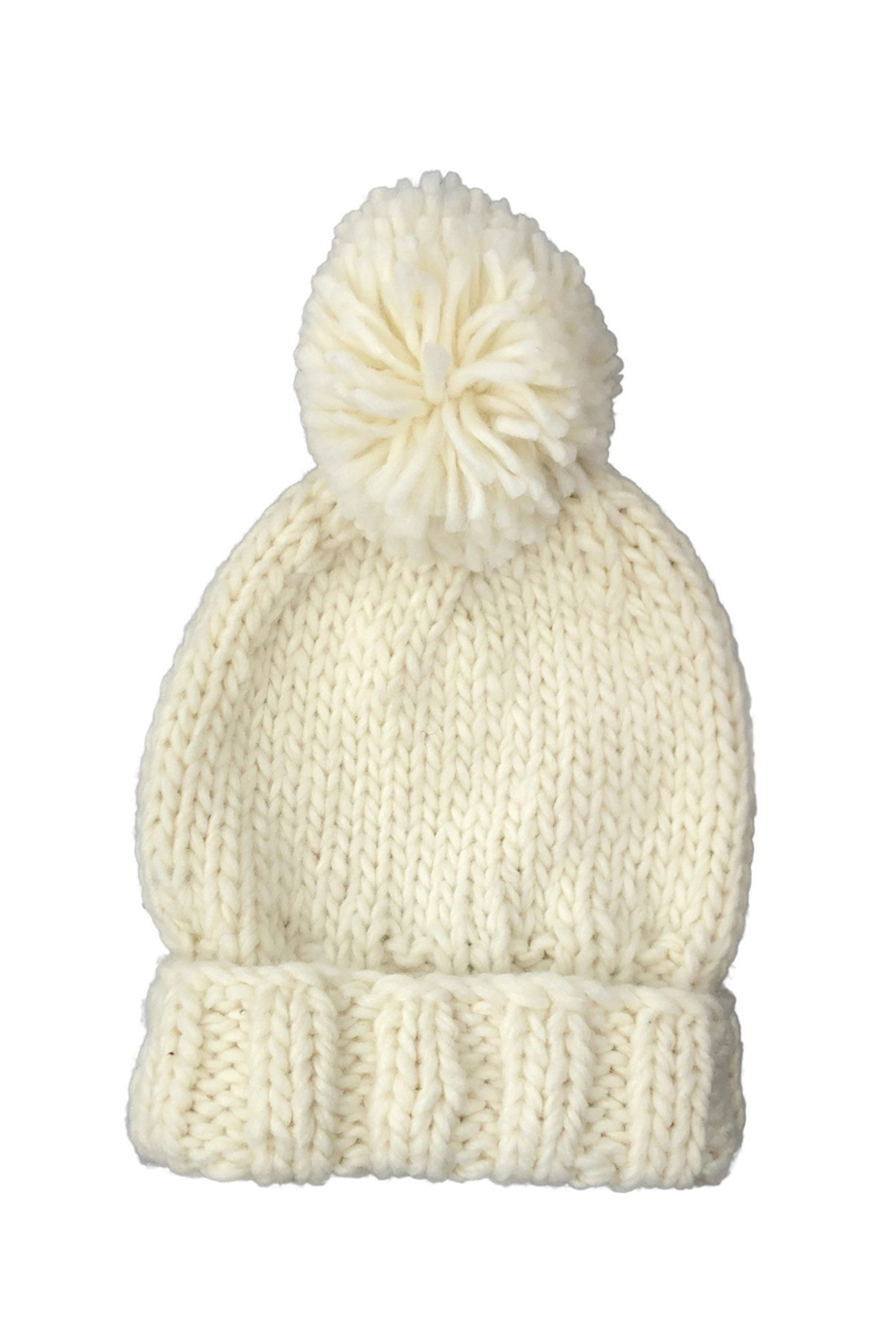 The Blueberry Hill Single Pom Hat - Front Cropped Image
