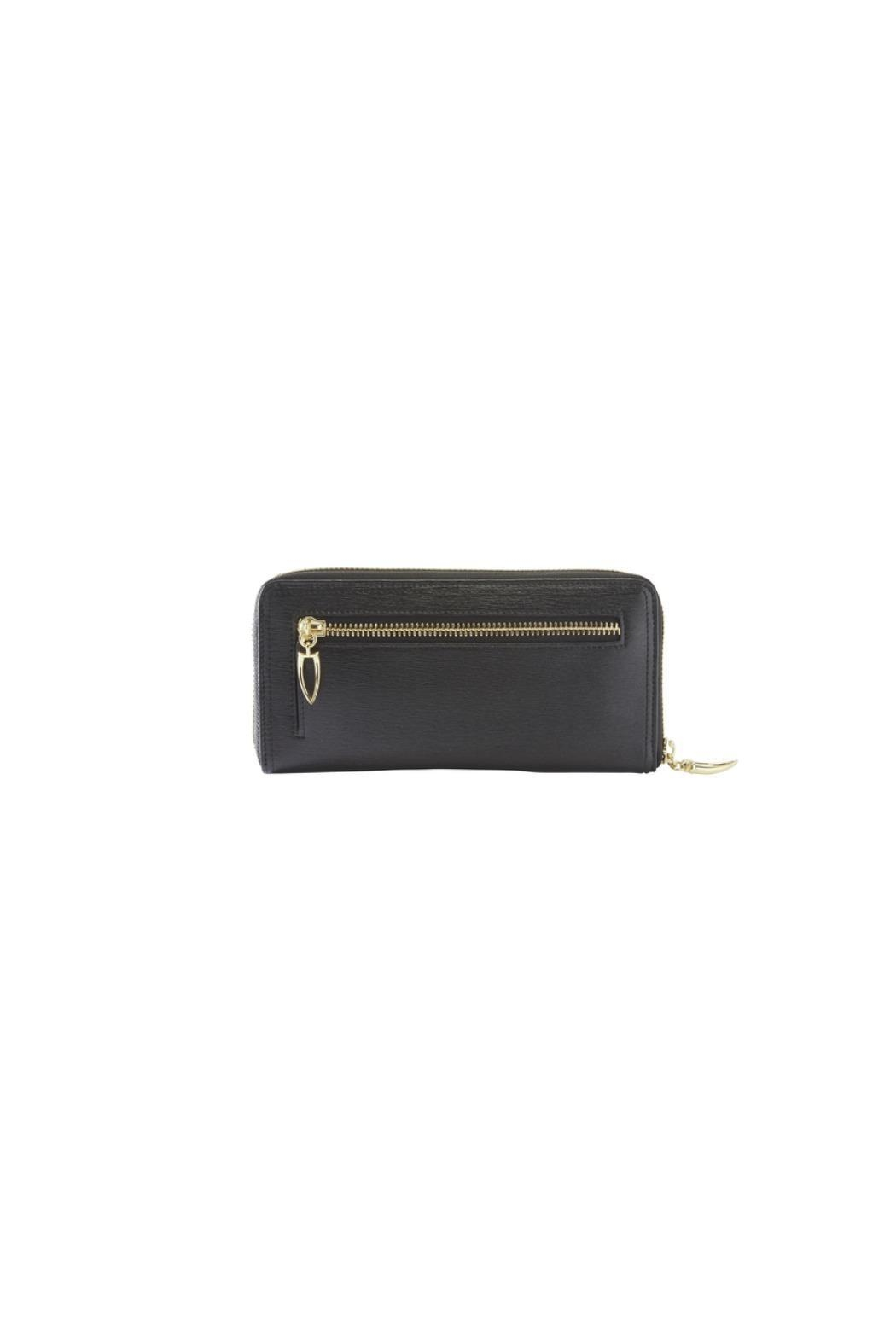 tusk Single Zip Gusseted Clutch Wallet - Front Cropped Image