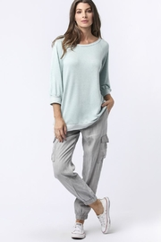 Sinuous Button Back Top - Product Mini Image