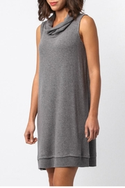 Sinuous Sleeveless Cowl Neck Dress - Front full body