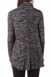 Sinuous Cowl Neck Pullover - Front full body
