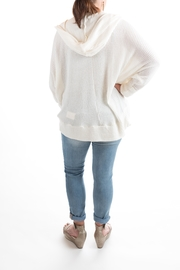 Sinuous Hoodie Sweater - Front full body