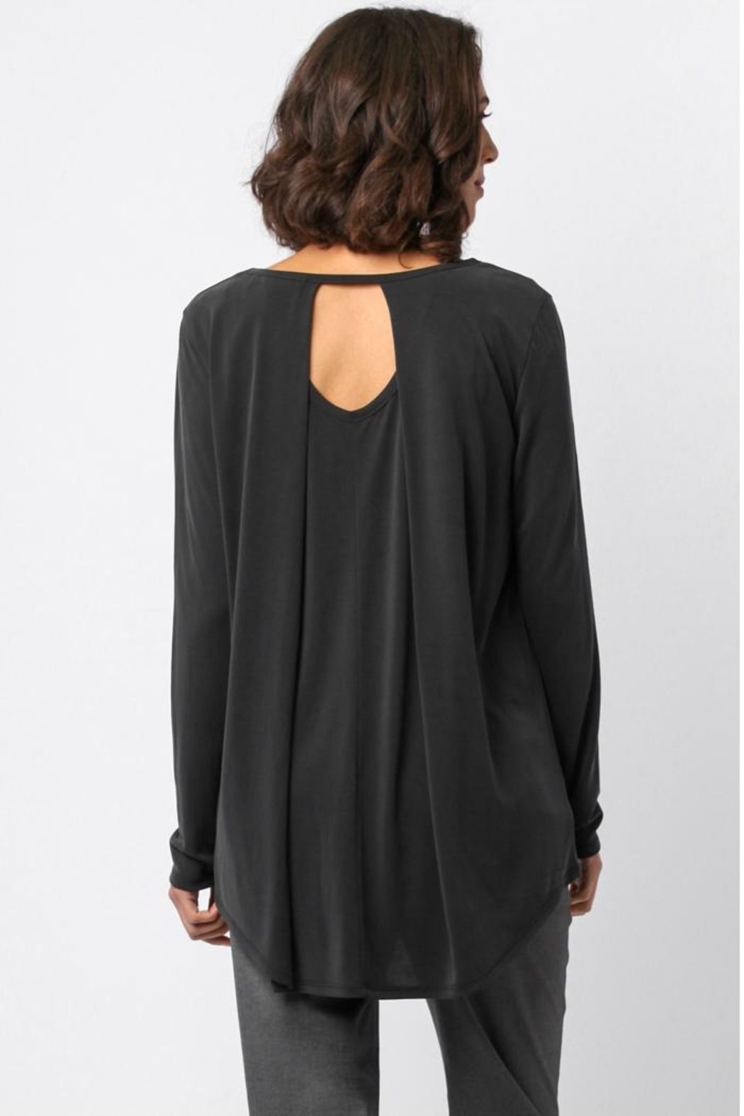 Sinuous Open Back Top - Back Cropped Image