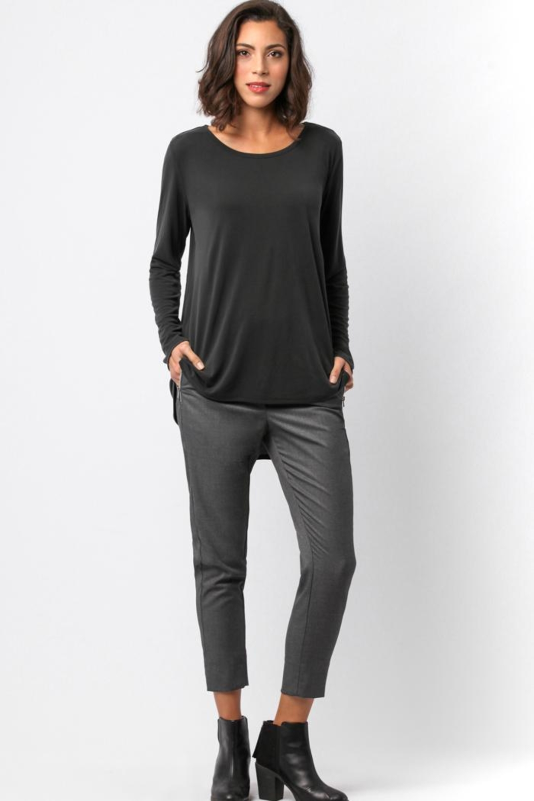 Sinuous Open Back Top - Front Full Image