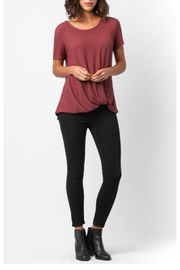 Sinuous Side Knot Top - Front cropped