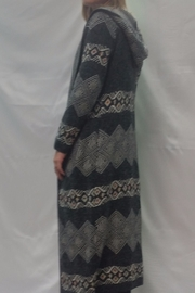 Sioni Maxi Hooded Cardigan - Front full body