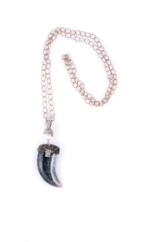 Sioro Jewelry Marble Horn Necklace - Product Mini Image