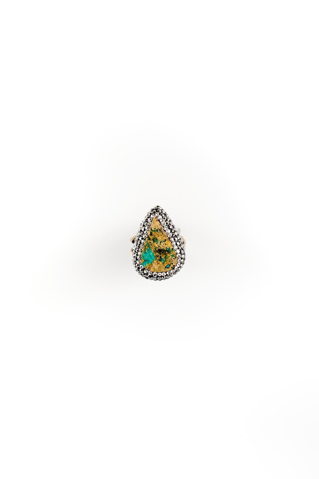 Sioro Jewelry Multicolor Marble Ring - Main Image