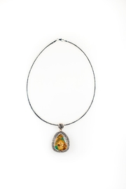 Sioro Jewelry Multicolor-Stone Pendant Necklace - Product Mini Image