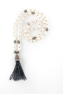 Shoptiques Product: Pearl Tassel Necklace