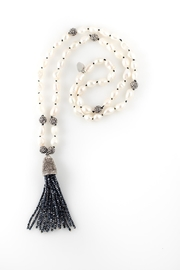 Sioro Jewelry Pearl Tassel Necklace - Product Mini Image